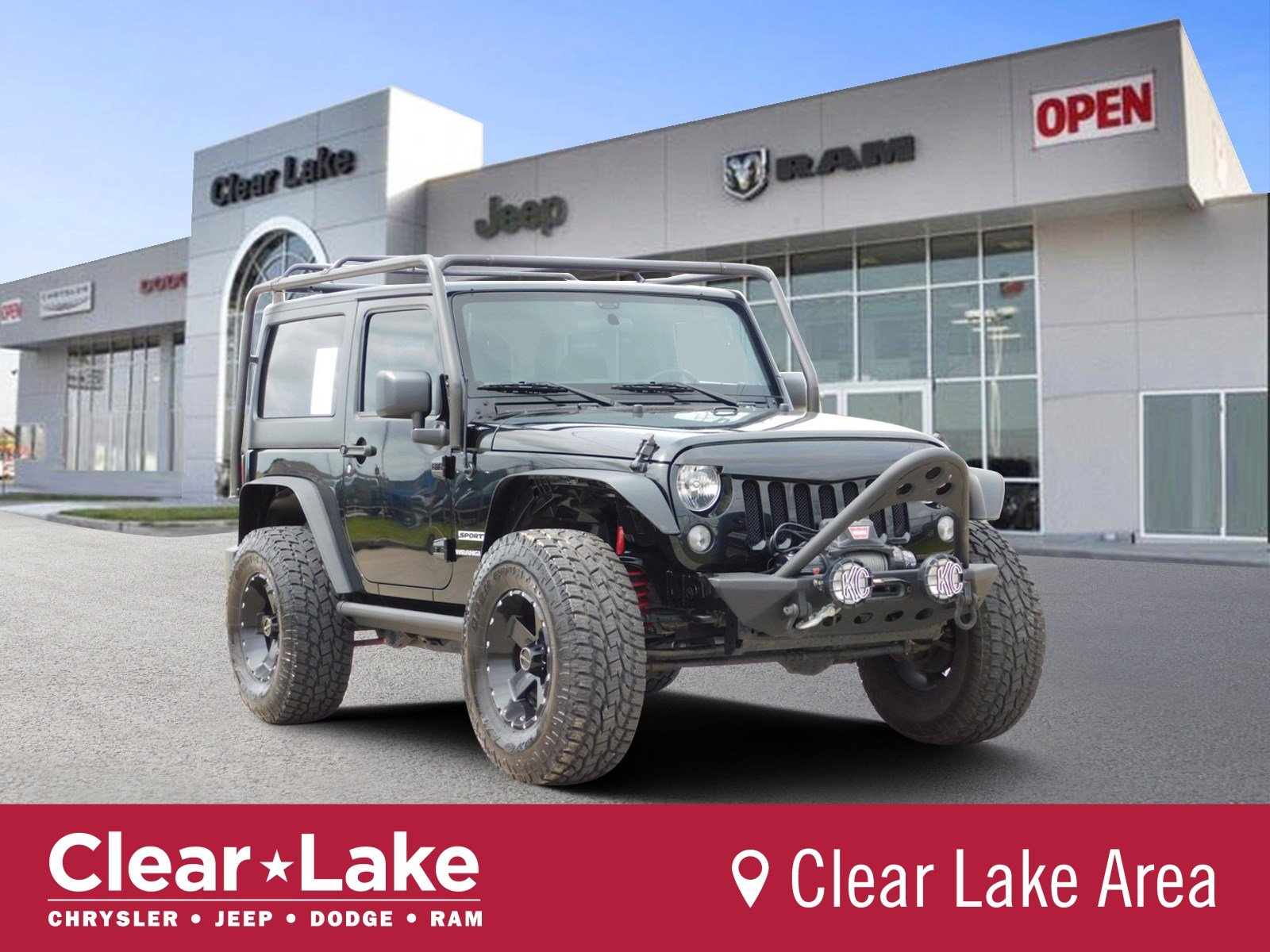 Pre Owned 2016 Jeep Wrangler Sport Convertible In Webster 303026a Clear Lake Chrysler Dodge Ram