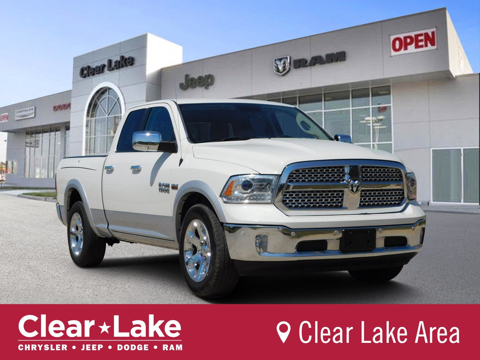 Pre Owned 2016 Ram 1500 Laramie Crew Cab Pickup In Webster 389189a Clear Lake Chrysler Dodge Jeep