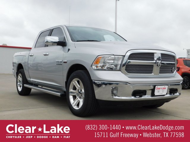 Retired Demo Loaner 2018 Ram 1500 Lone Star Silver