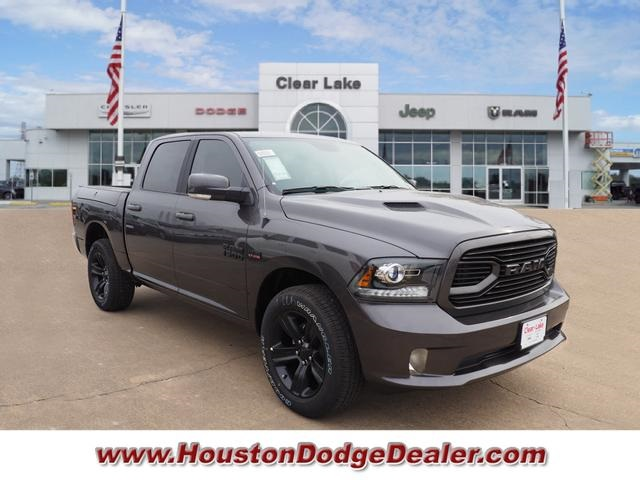 Jeep Dealer Houston >> New 2018 Ram 1500 Sport Crew Cab in Webster #JS113881 | Clear Lake Chrysler Dodge Jeep Ram