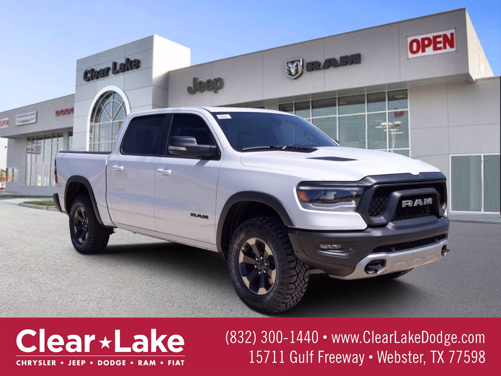 New 2020 Ram 1500 Rebel Crew Cab In Webster Ln314164 Clear Lake Chrysler Dodge Jeep Ram Fiat