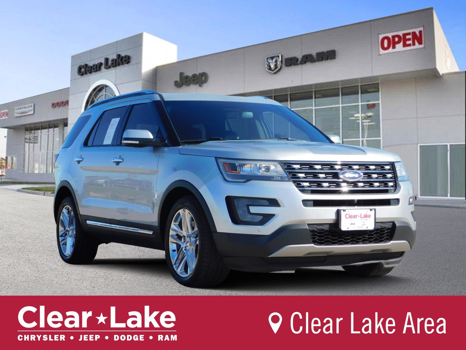 Pre Owned 2016 Ford Explorer Limited Sport Utility In Webster B51541a Clear Lake Chrysler Dodge Jeep Ram