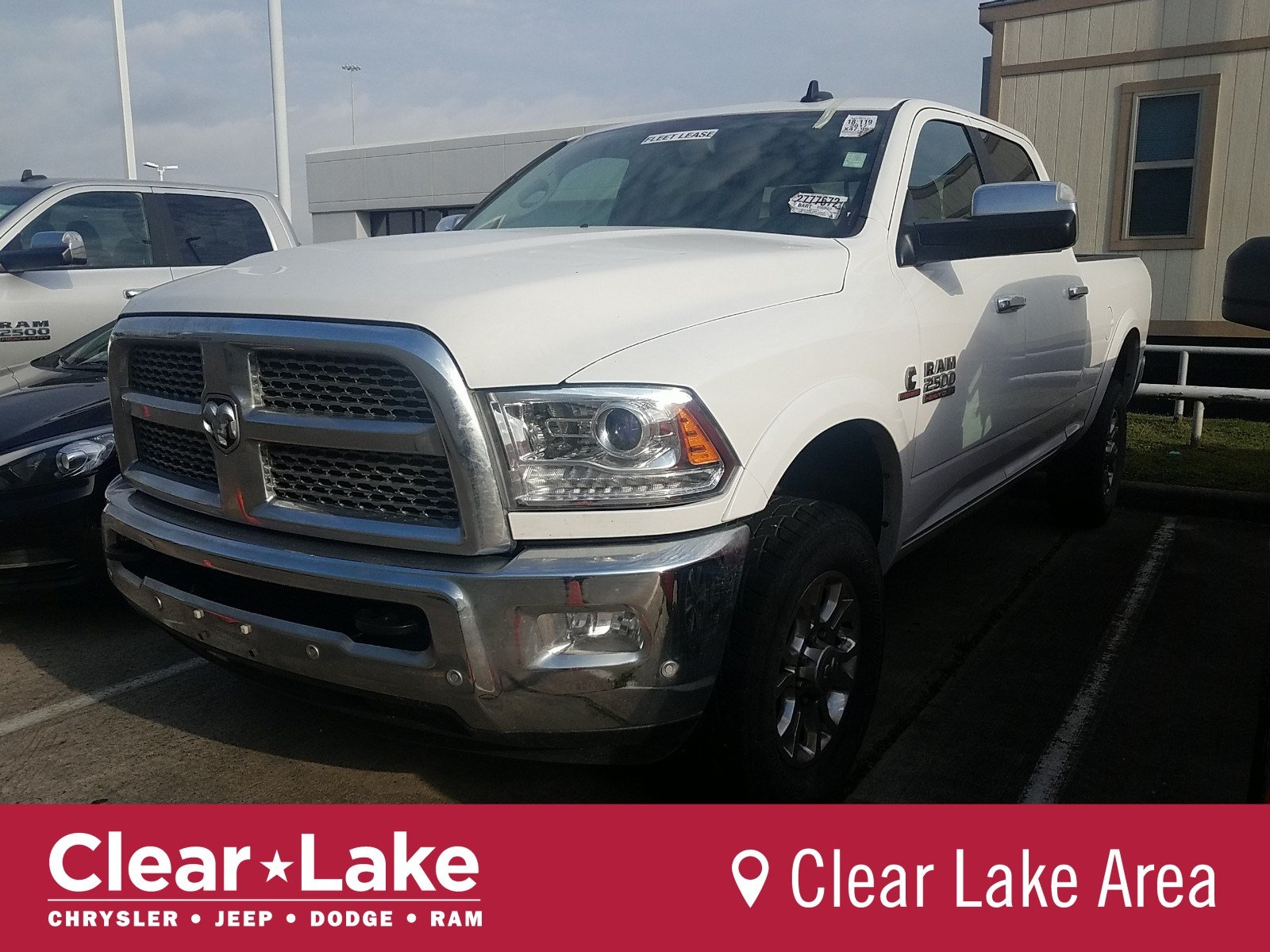 Pre Owned 2017 Ram 2500 Laramie Crew Cab Pickup In Webster Stk755047 Clear Lake Chrysler Dodge Jeep