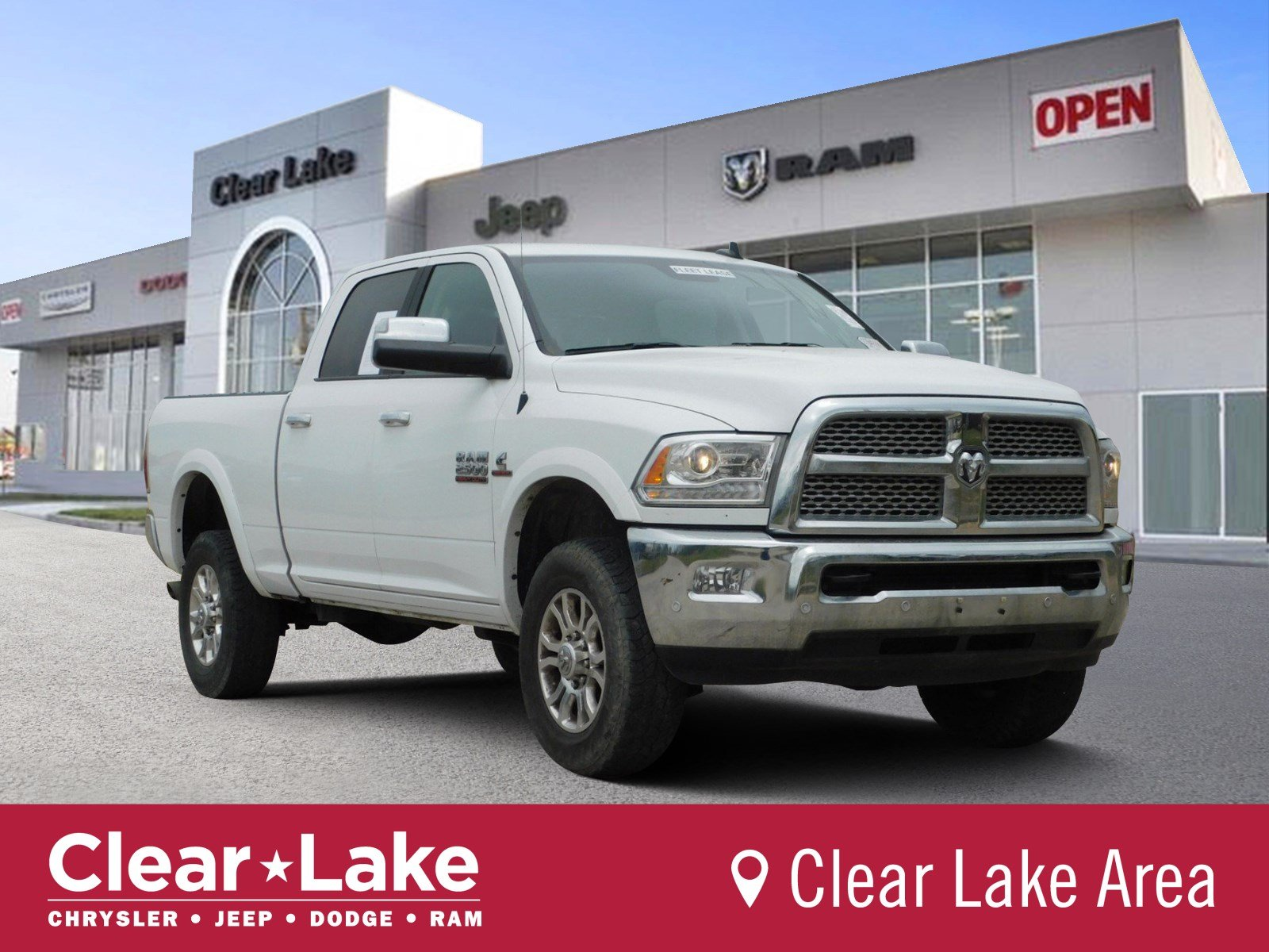Pre Owned 2017 Ram 2500 Laramie Crew Cab Pickup In Webster Stk702267 Clear Lake Chrysler Dodge Jeep
