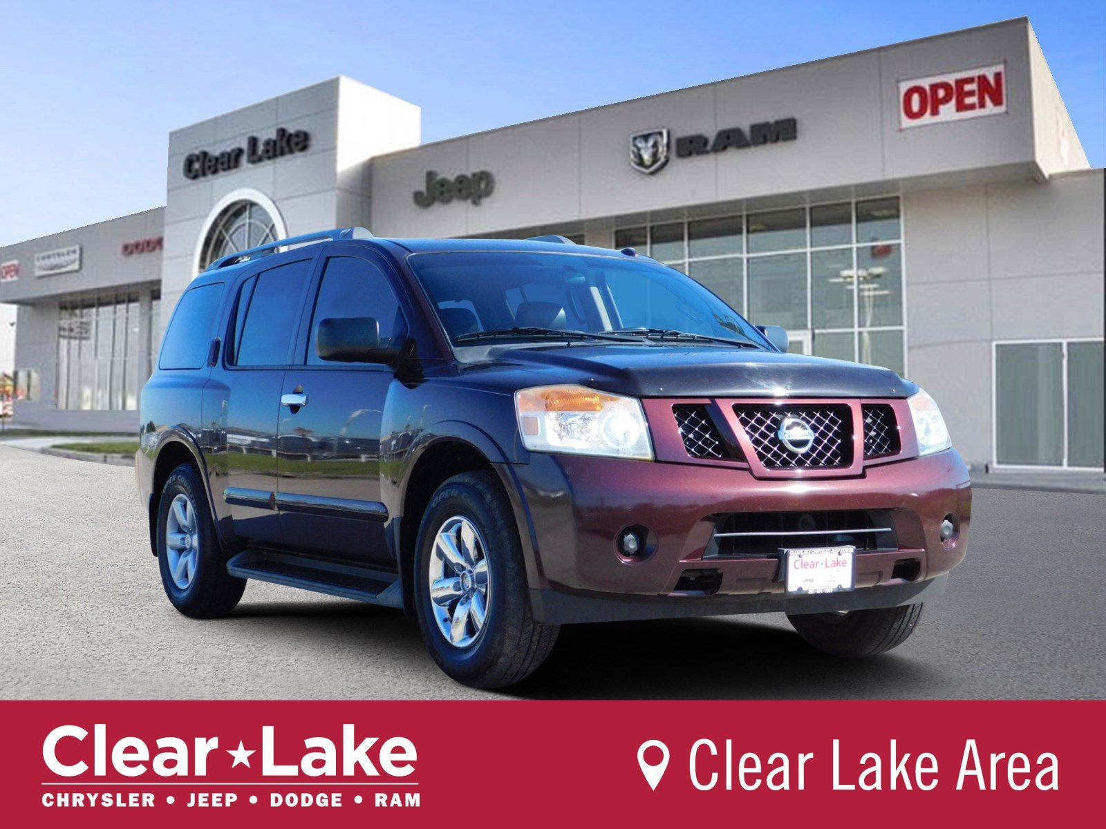 Pre Owned 2017 Nissan Armada Sv Sport Utility In Webster 600835a Clear Lake Chrysler Dodge Jeep Ram