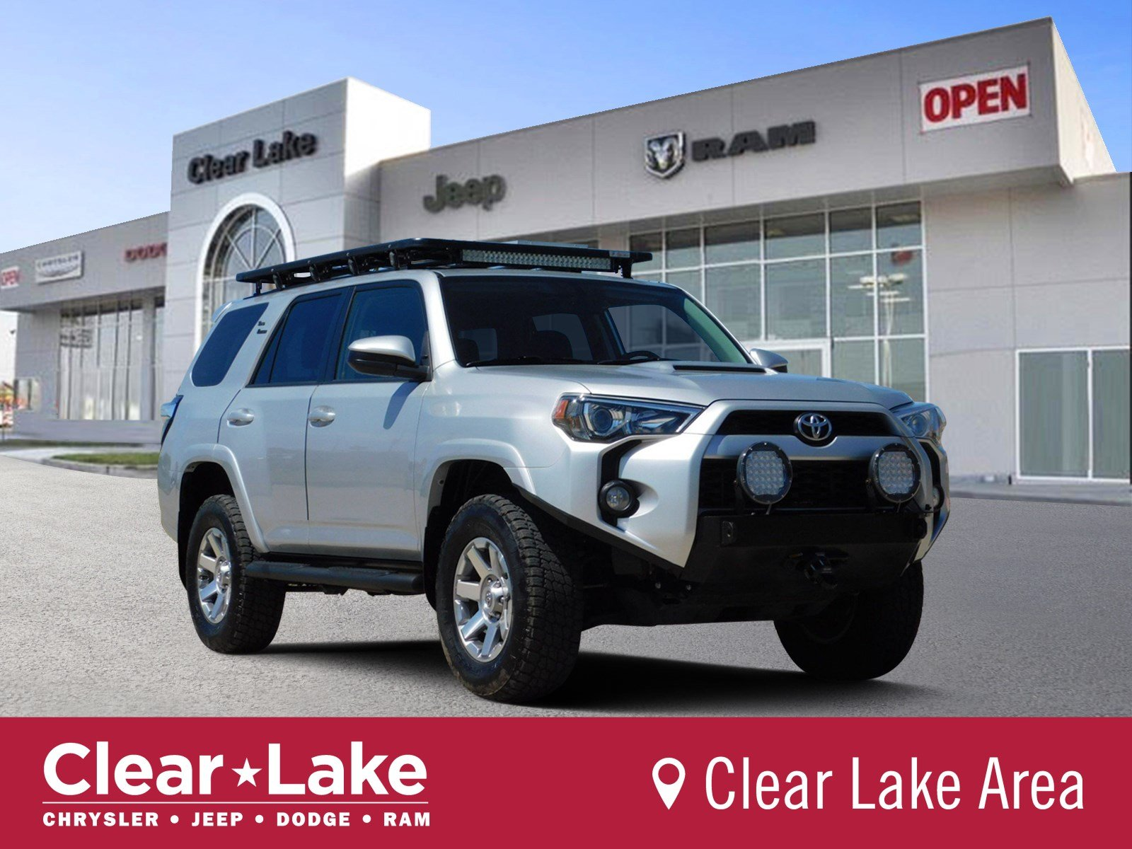 Pre Owned 2016 Toyota 4runner Trd Pro Sport Utility In Webster 389400a Clear Lake Chrysler Dodge Jeep Ram